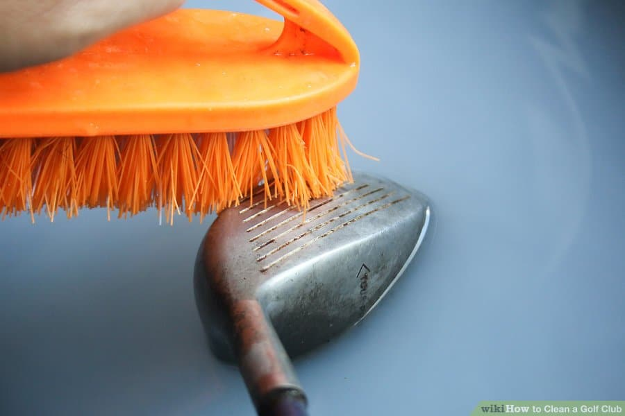 How to clean golf club shafts
