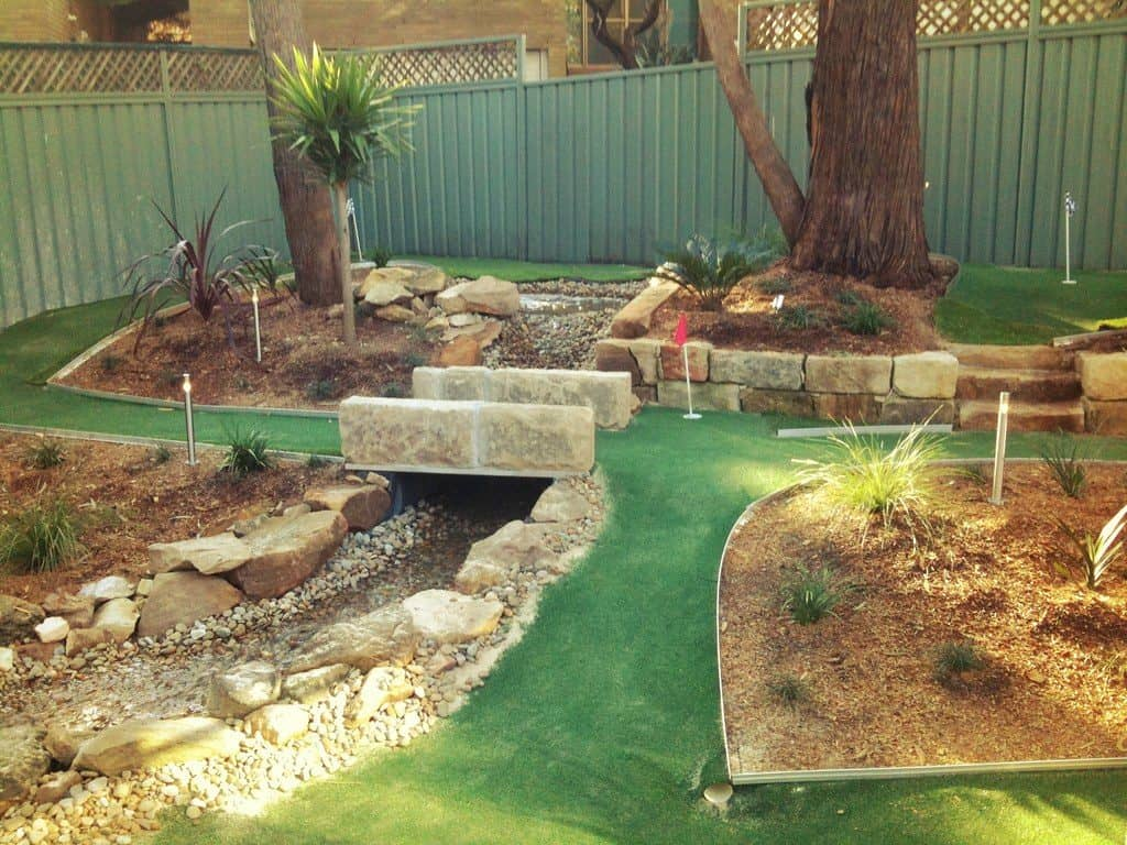 How to Build a Mini Golf Course in Your Backyard