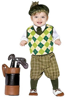 Rasta Imposta Future Golfer Costume
