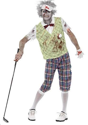 Smiffys Mens Zombie Golfer Costume