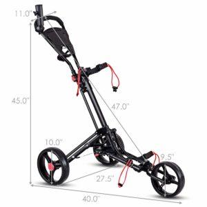 Tangkula Folding Golf Cart