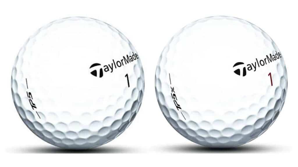 taylormade tp5 vs tp5x golf balls