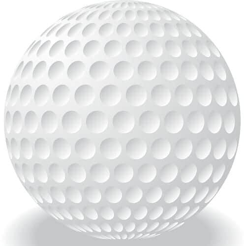 Golf ball dimple patterns s