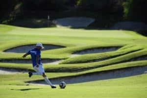 What is footgolf