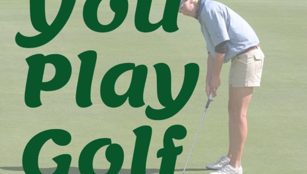 Can you play golf alone