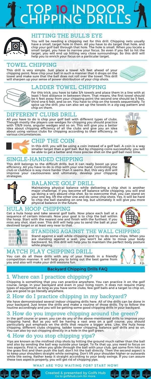 Top 10 best indoor chipping practice drills