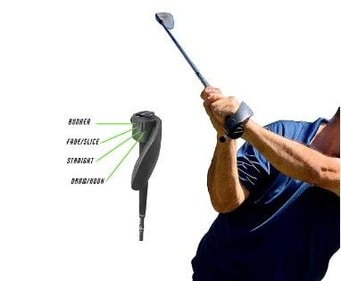 Lock-in Golf Grip V2 Golf Training aid