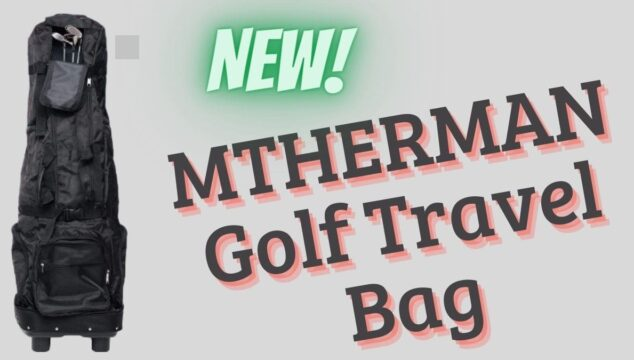 MTHERMAN Golf Travel Bag