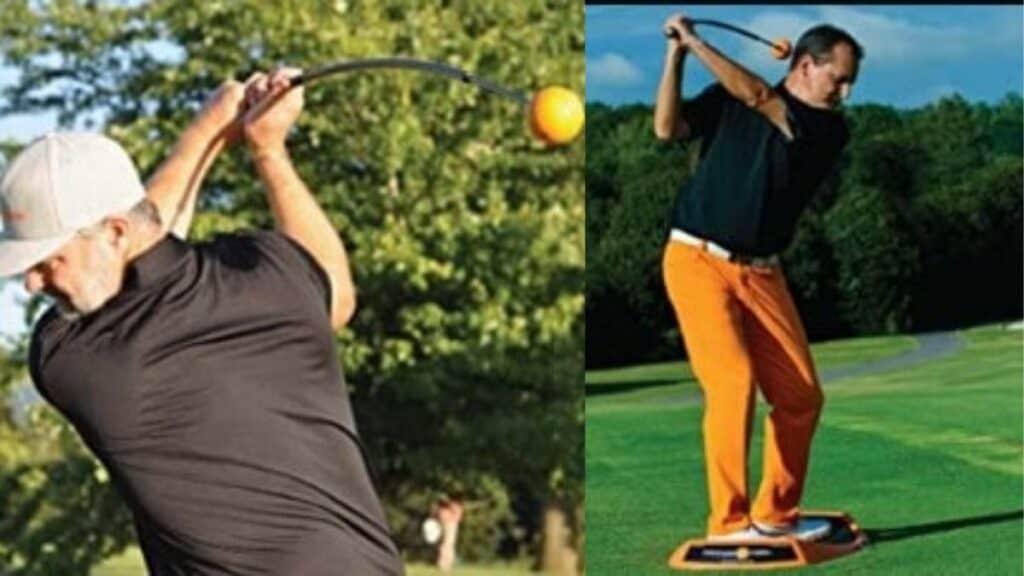 the best indoor golf swing trainer
