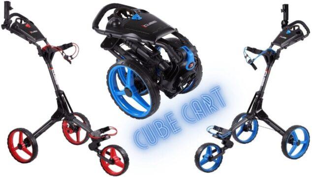 Cube Cart 3 Wheel Golf Trolley