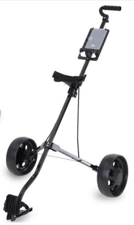 Golf push cart vs pull cart