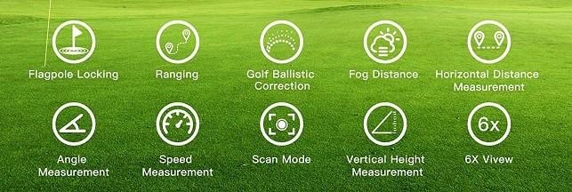 Review of Legiral Golf Rangefinders