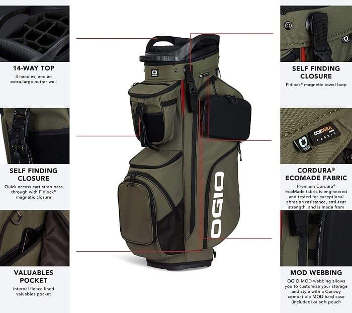 ogio golf bags review