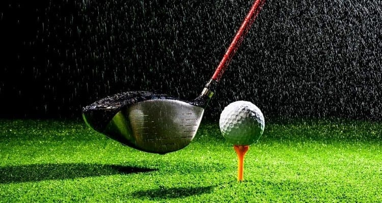 Can you play golf in the rain