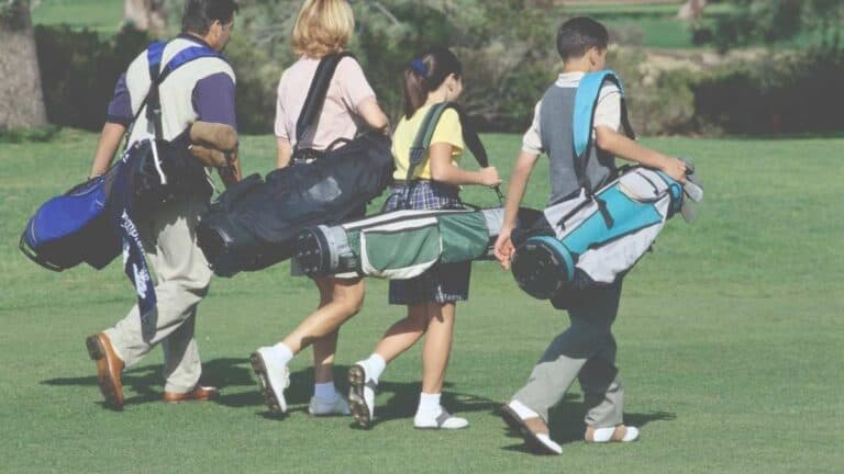 Is carrying golf bag bad for your back