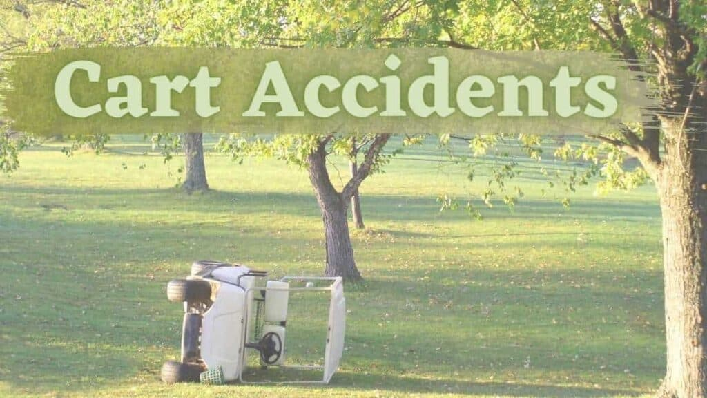 golf carts accidents and injuries