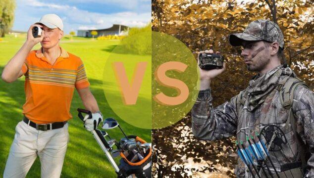 golf rangefinder vs hunting rangefinder
