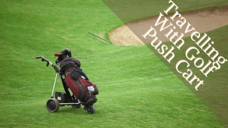 how to Travel With Golf Push Cart