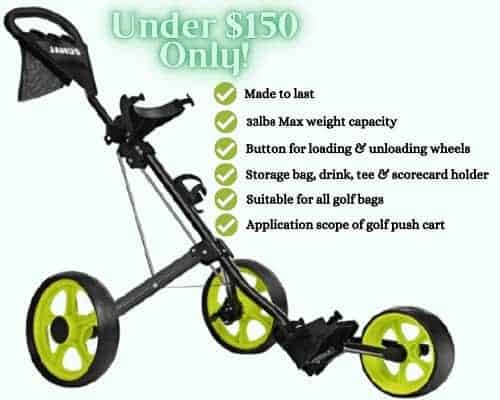 Janus Golf Push Cart