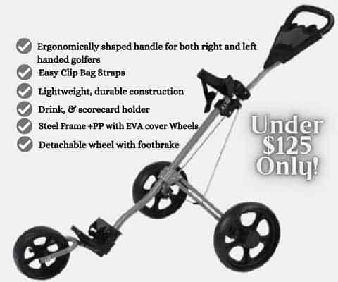 Landscap Golf Pull Push Cart