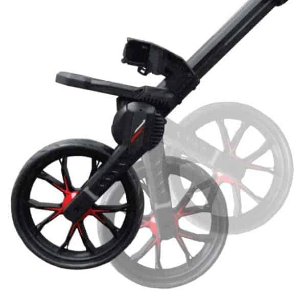 bag boy Fixed front wheel