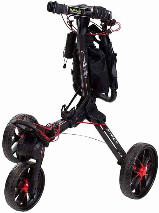 bag boy nitron golf push cart