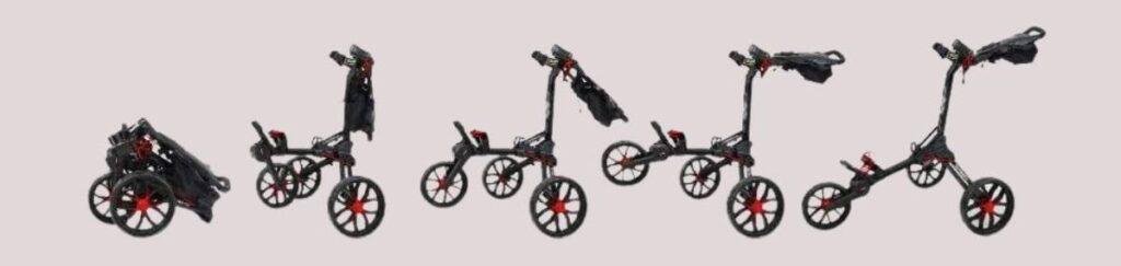 bag boy nitron push cart review