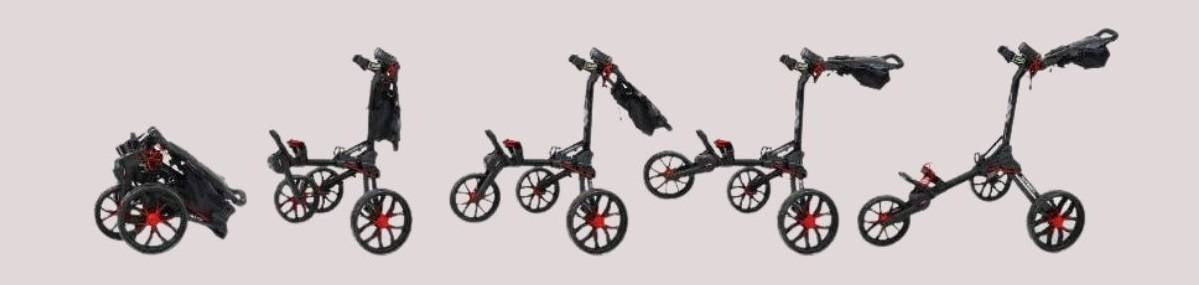 Bag Boy Nitron Push Cart Review: The Best Auto-Open Cart I Ever Had!