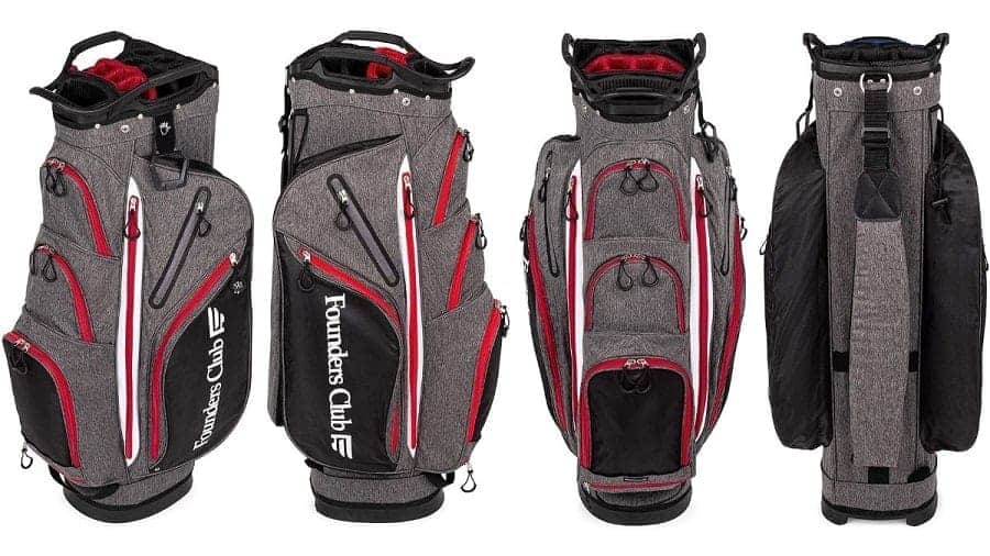 Founders Club Franklin Golf Push Cart Bag