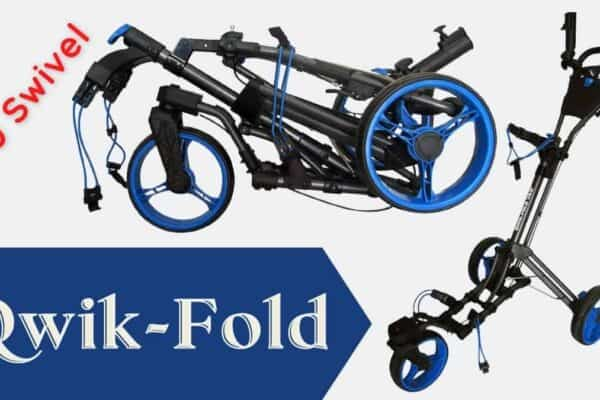 Qwik-Fold 360 Swivel Golf Cart