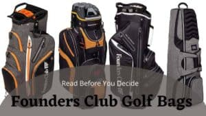 founders club golf bags