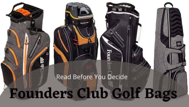 founders club golf bags