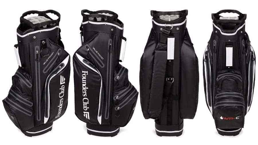 founders club waterproof golf bag