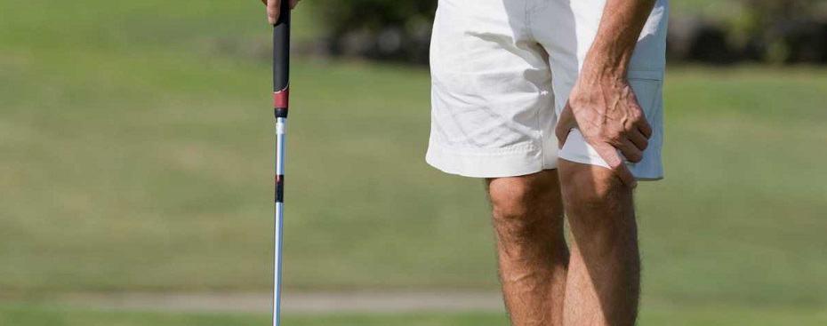 golfer knee