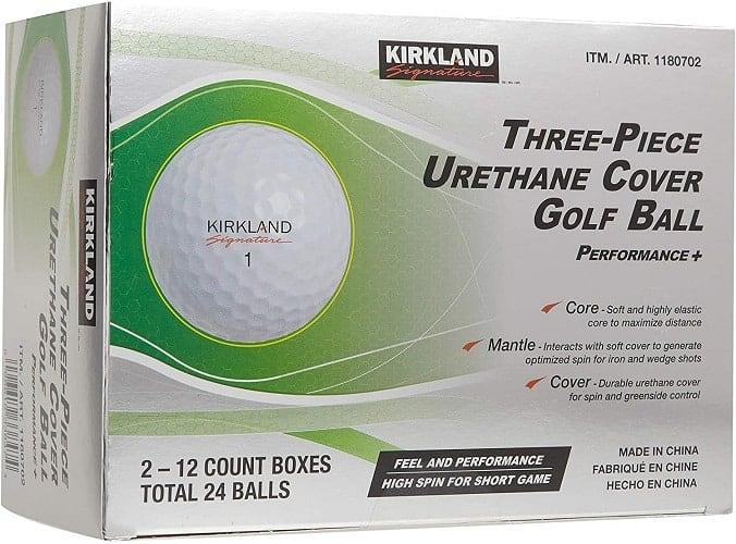 kirkland 3 piece golf balls