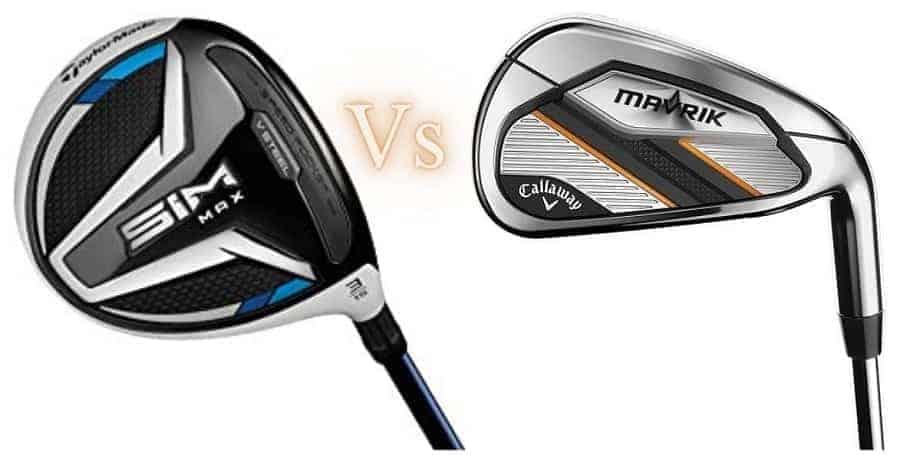 taylormade sim max vs callaway mavrik irons