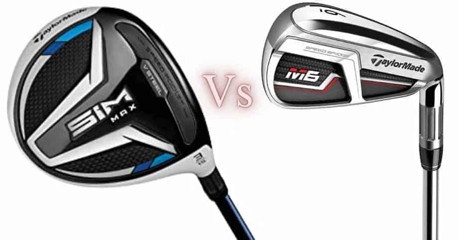 taylormade sim max vs m6 irons