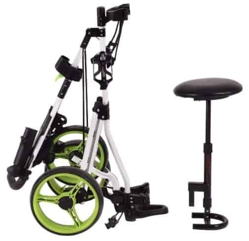 Gymax Push Cart