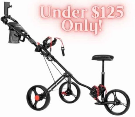 PEXMOR Golf Push Cart