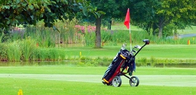 best rated golf push carts 2020