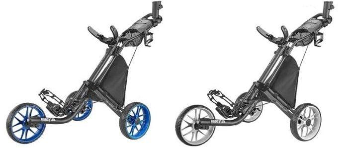 caddytek ez fold 3-wheel golf push cart manual